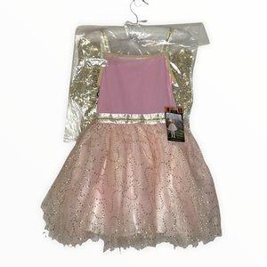 Fao Schwarz Fairy Princess Costume Pink Gold